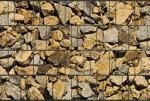 Sichtschutz Korfu, Streifenhöhe: ca. 19 cm, Rollenlänge: ca. 26 lfm.